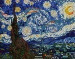 Starry Night Mosaic